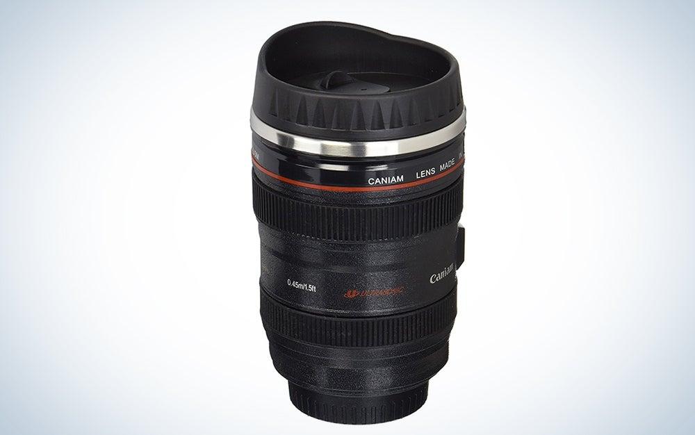 Camera Lens Travel Thermos
