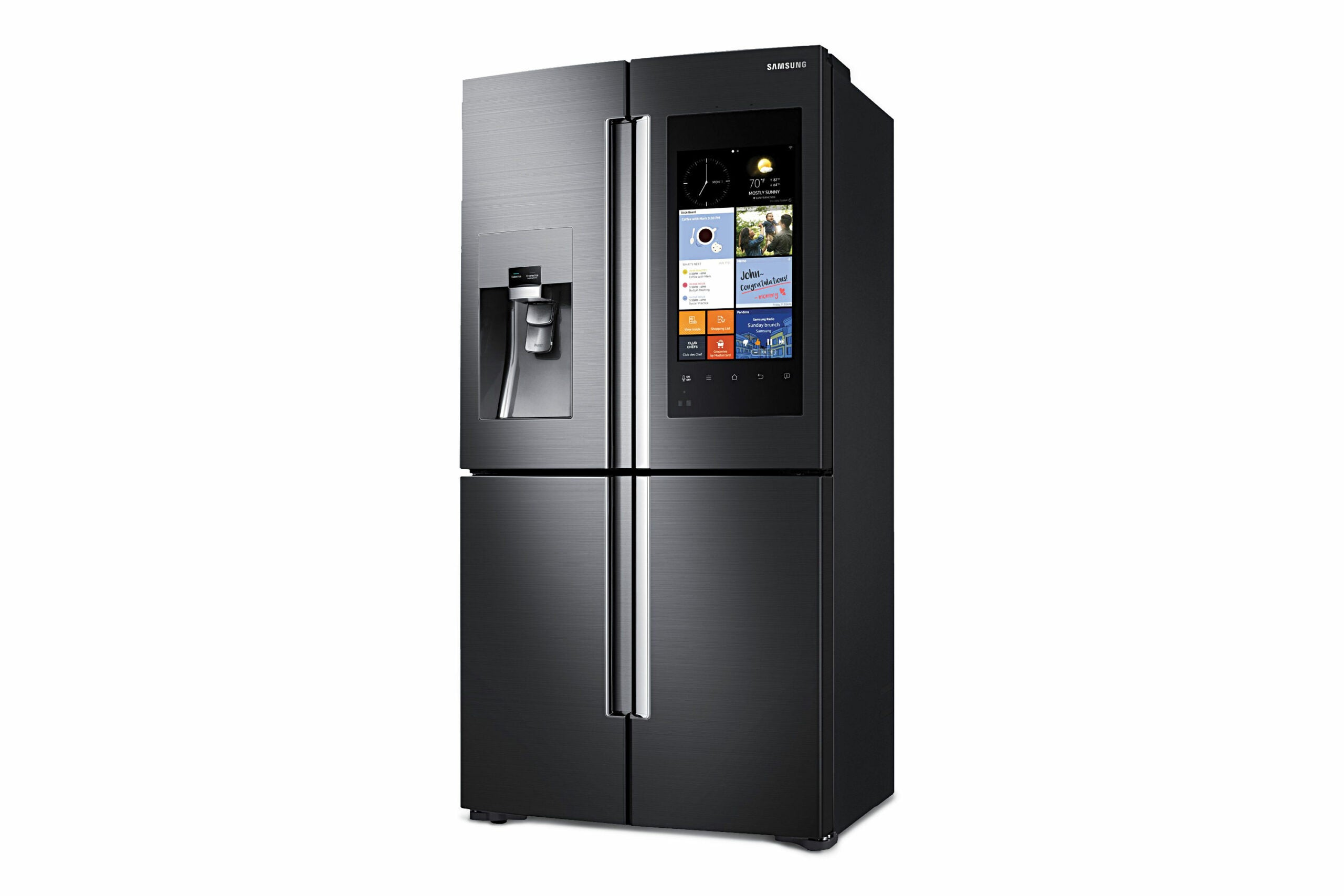 Samsung Family Hub Refrigerator: A Fridge That Helps You Shop