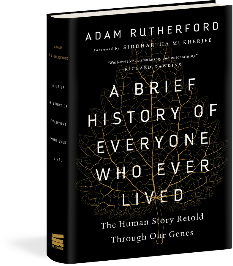 brief history cover, black cover gold outline of a leaf with white text