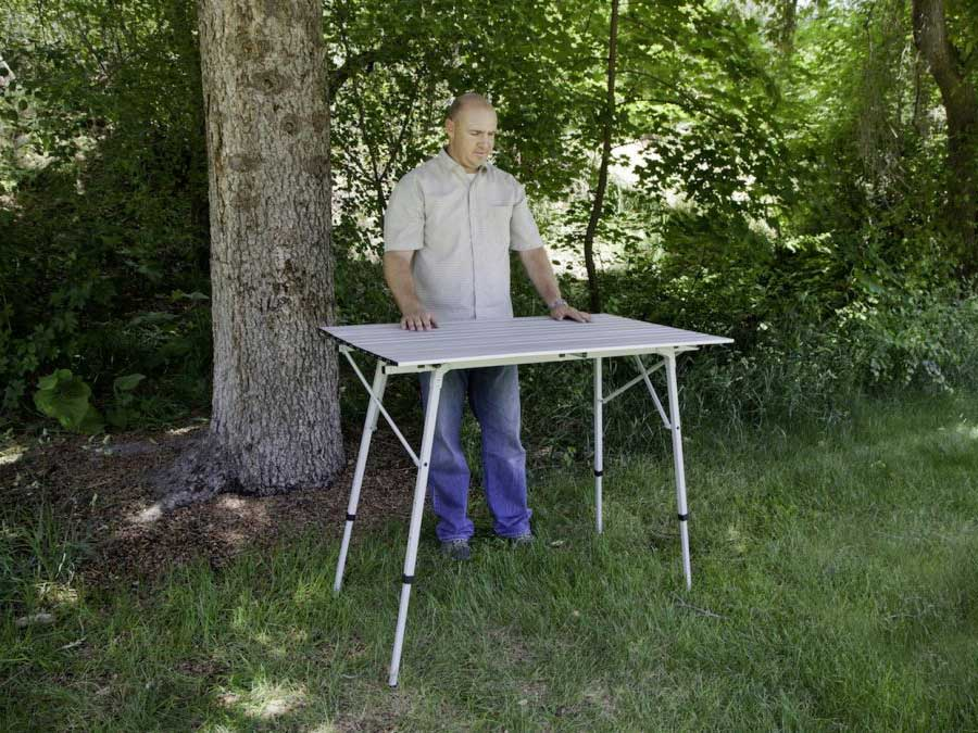 Collapsible Utility Table