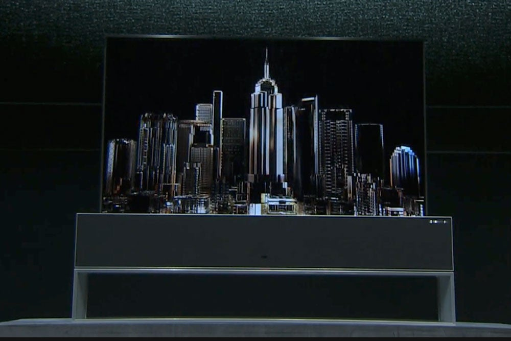 LG's Rollup TV