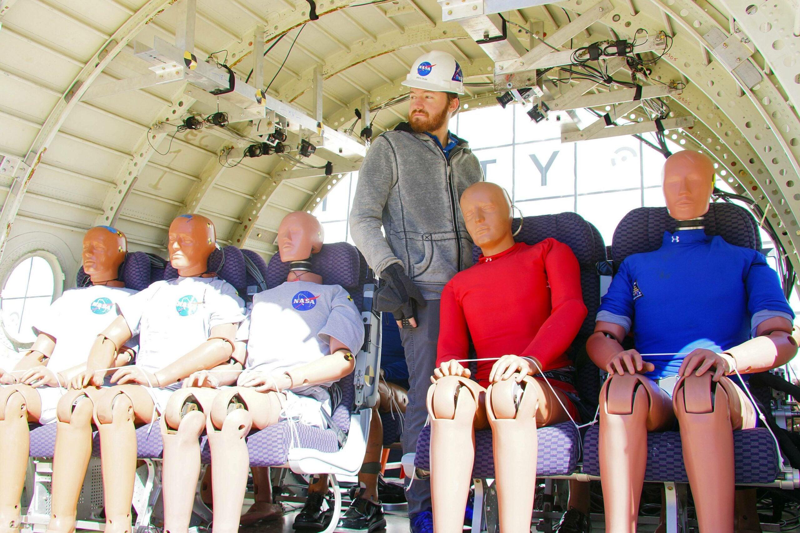 NASA dummies test