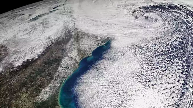 Winter storm Grayson in January 2018