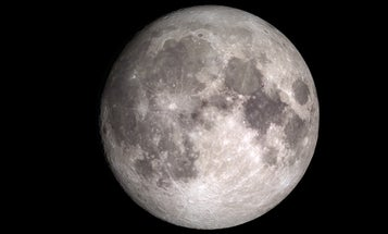 The Moon keeps flashing us and we have no idea why