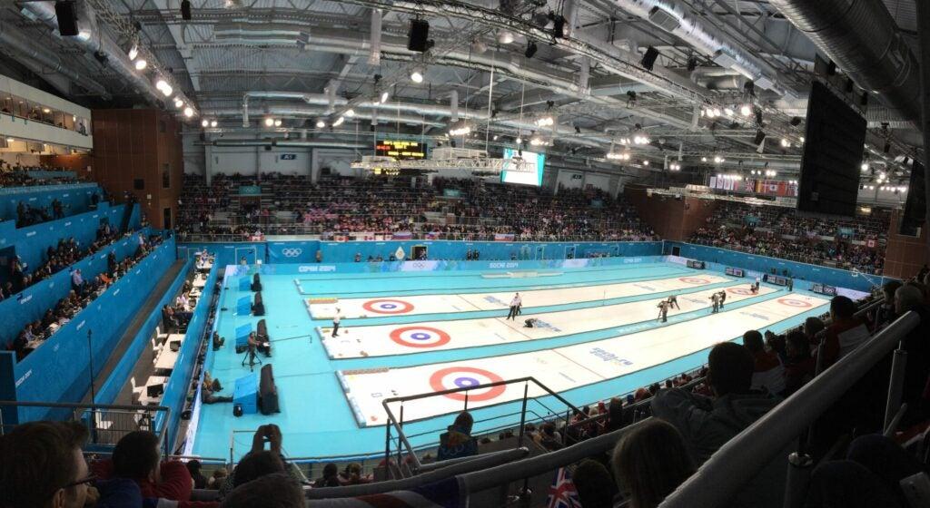 Curling court