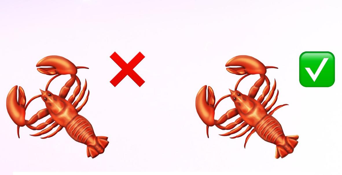 lobster emoji