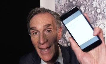 Watch Bill Nye respond to anti-science tweets