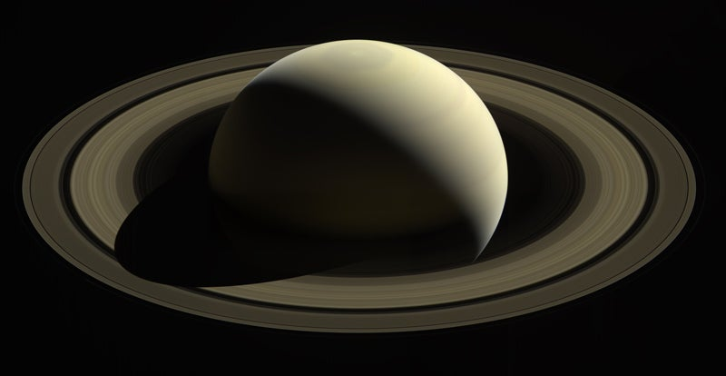 Glance through Cassini's last glimpses of the Saturn system