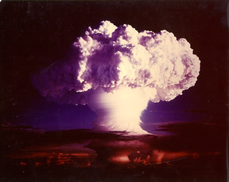 Nuclear weapons test, 1952