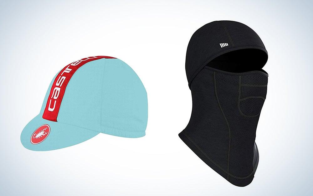 Bike hat and balaclava