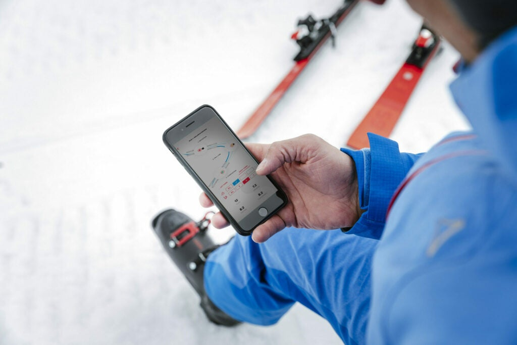 Hawx connected ski boots