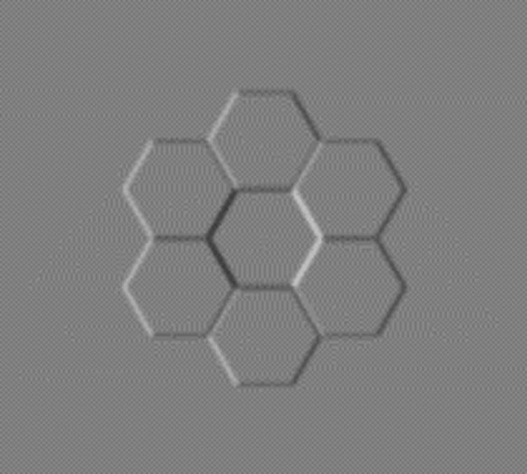 honeycomb stimulus image