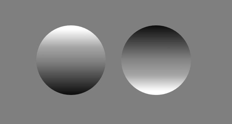 convex and concave circles