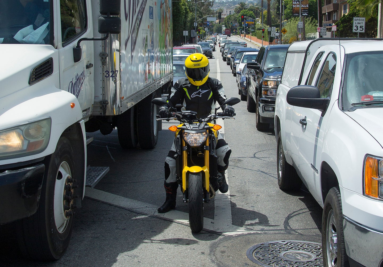 California lane-splitting is now legal