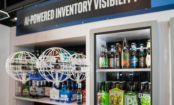 These automated drones know when the supermarket is out of beer