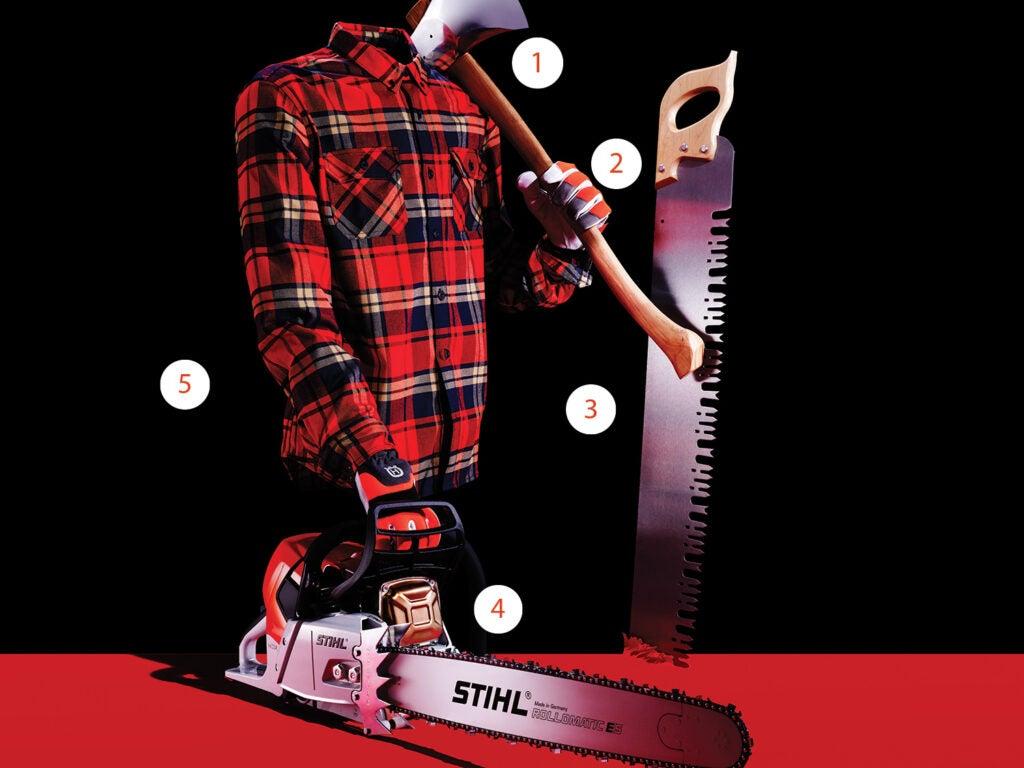 lumberjack gear
