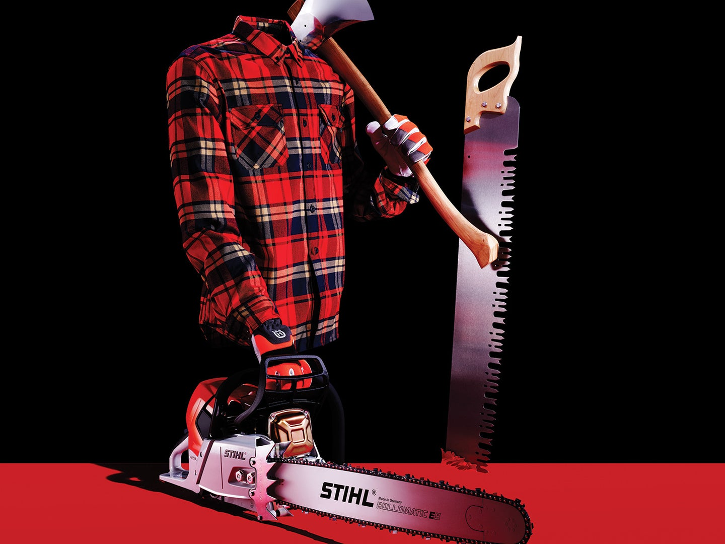 Here's the gear you need to be a backyard lumberjack