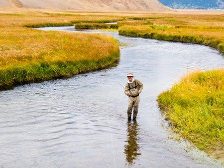 flyfishing trout big finish