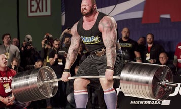 Building a barbell for 1,000 pound deadlifts takes careful engineering and lots of testing