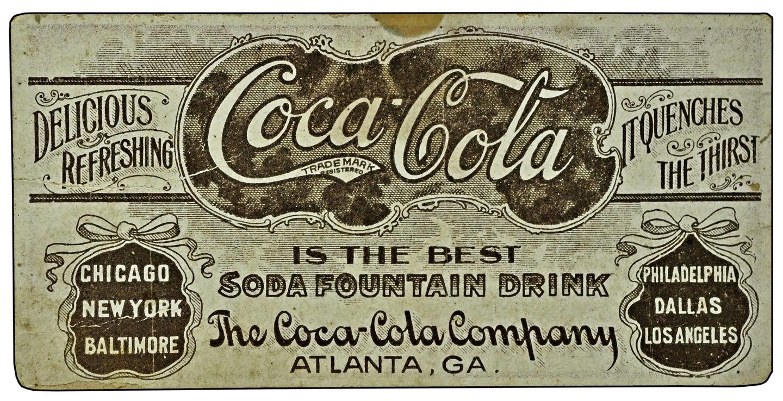 a vintage coca-cola ad