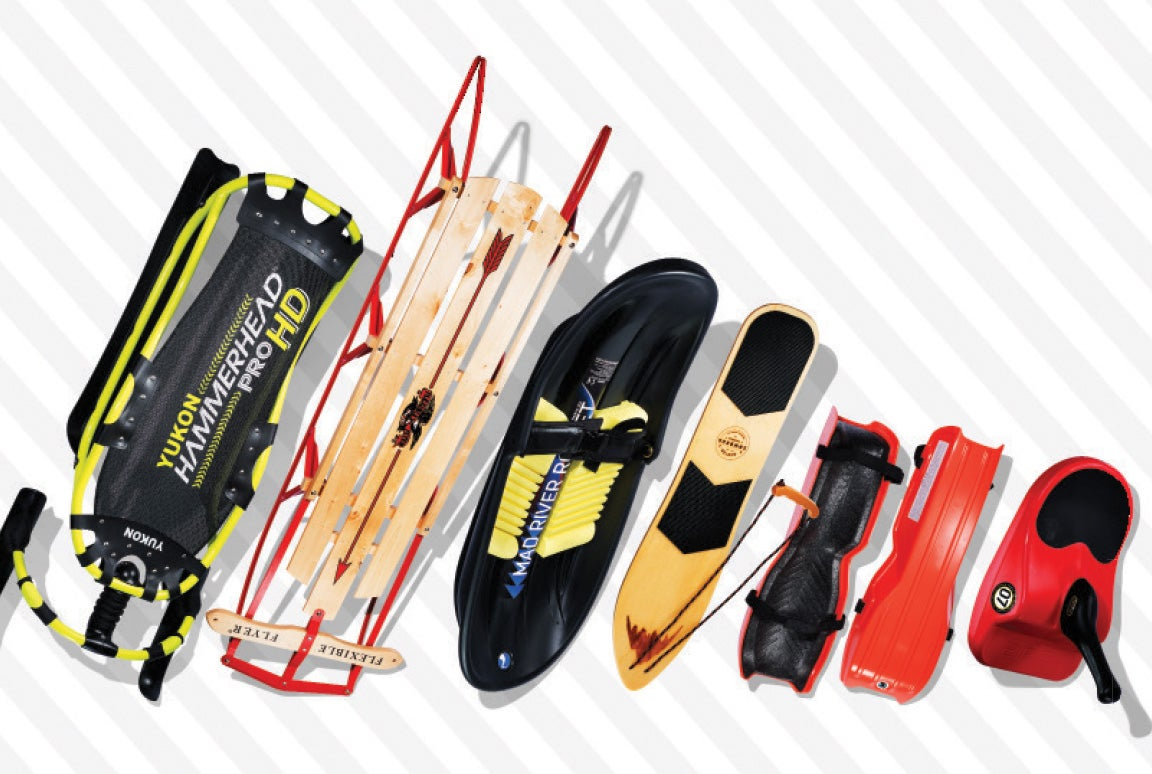 The smartest, fastest sleds for zooming down slopes