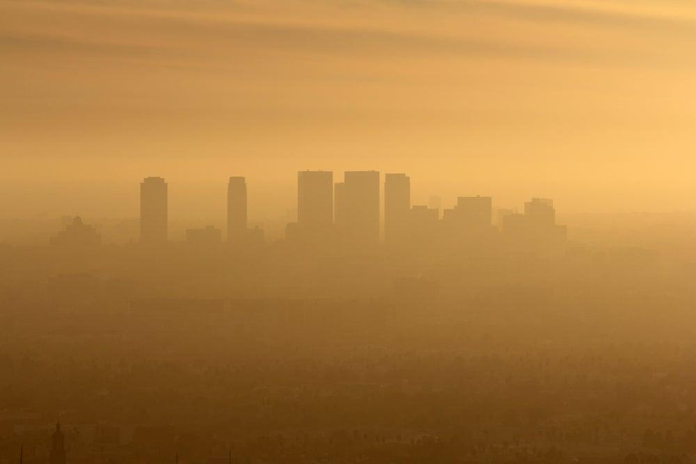 Smog Los Angeles cloud seeding response