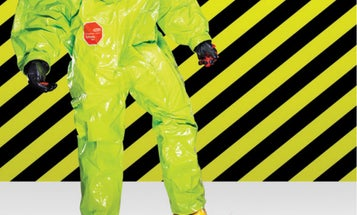 This hazmat suit can block VX nerve agent and other deadly chemicals. Here's how it's built.