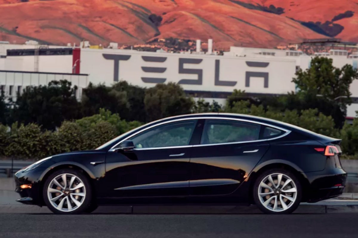Tesla 3 production model