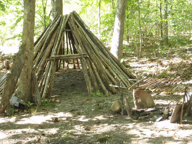 round lodge survival shelter