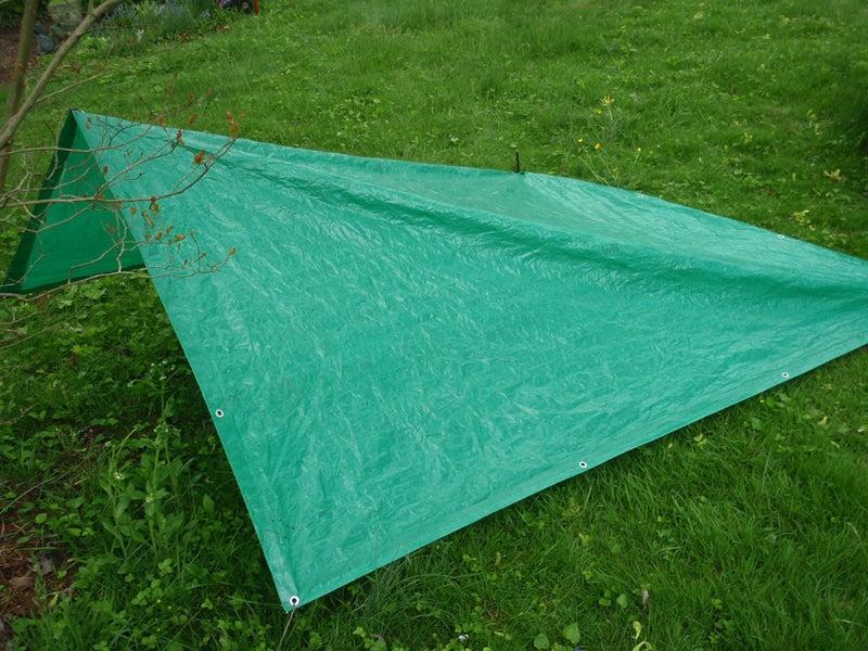 wedge tarp shelter