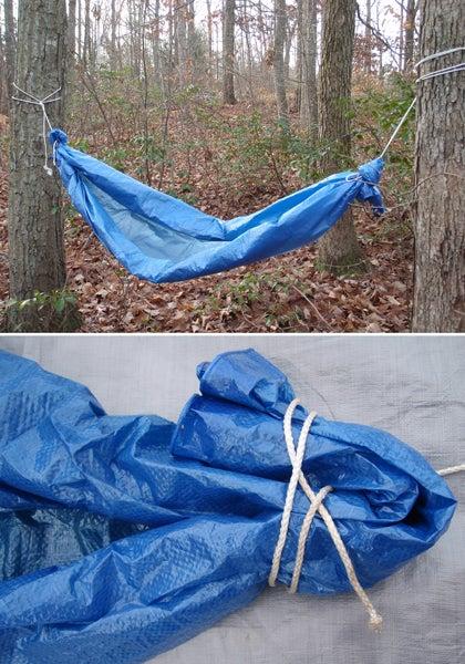 tarp hammock survival shelter