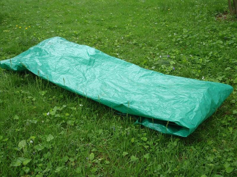 tarp burrito shelter