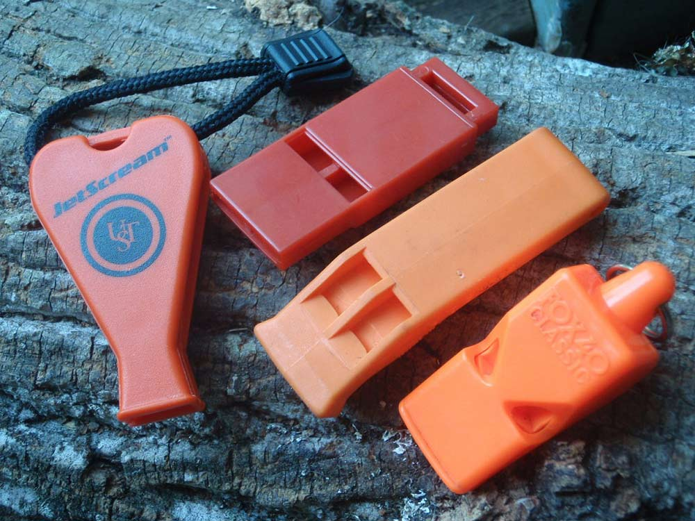 survival whistles