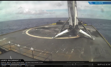 Recycled Falcon 9 rocket survives one of SpaceX's most challenging landings yet