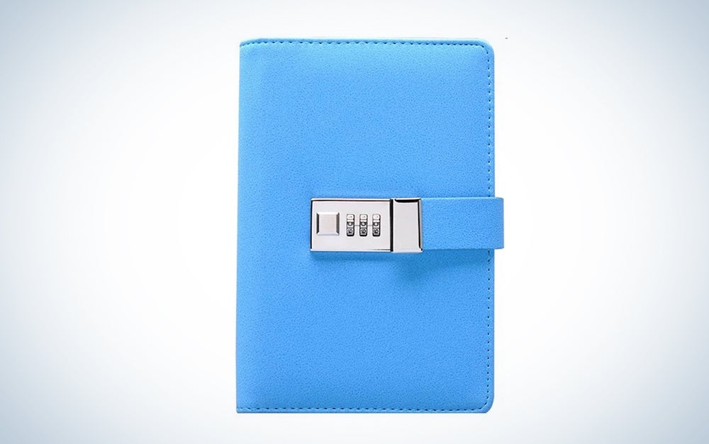 Something Personal Binder Journal with Combination Lock
