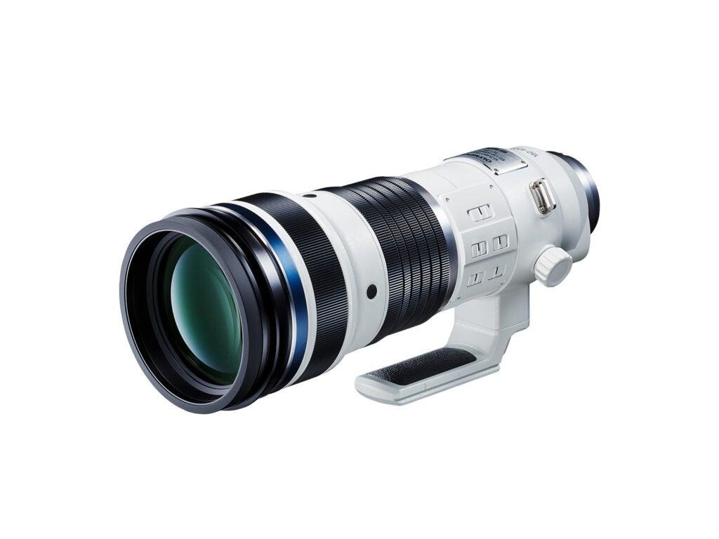 M.Zuiko Digital ED 150- 400mm F4.5 TC1.25x IS PRO super telephoto zoom lens