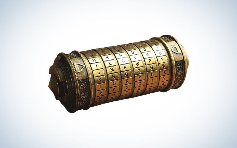 Da Vinci Code Mini Cryptex Valentine's Day Box