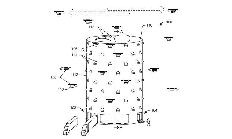 Amazon Drone Hub