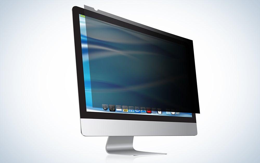 "27"" computer privacy screen and anti glare protector"