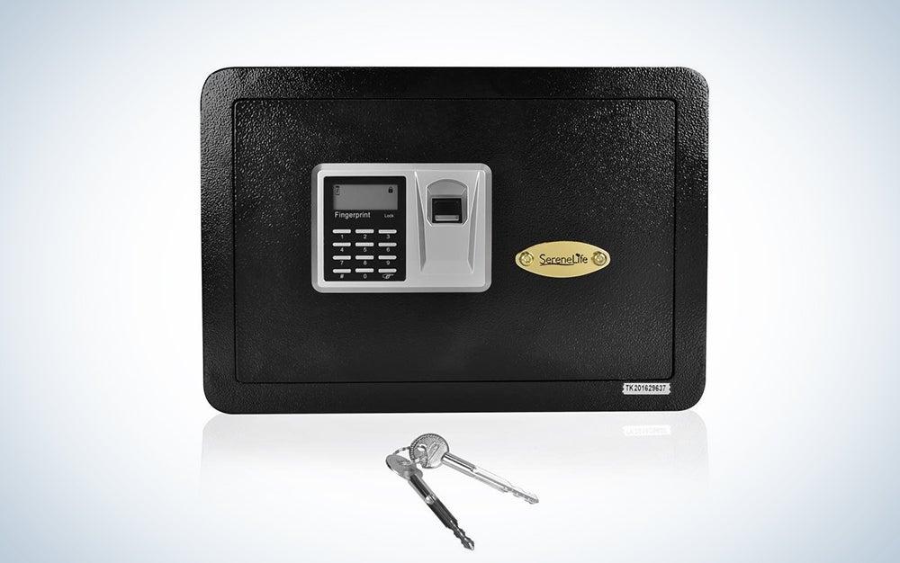 SereneLife Fingerprint Safe Box