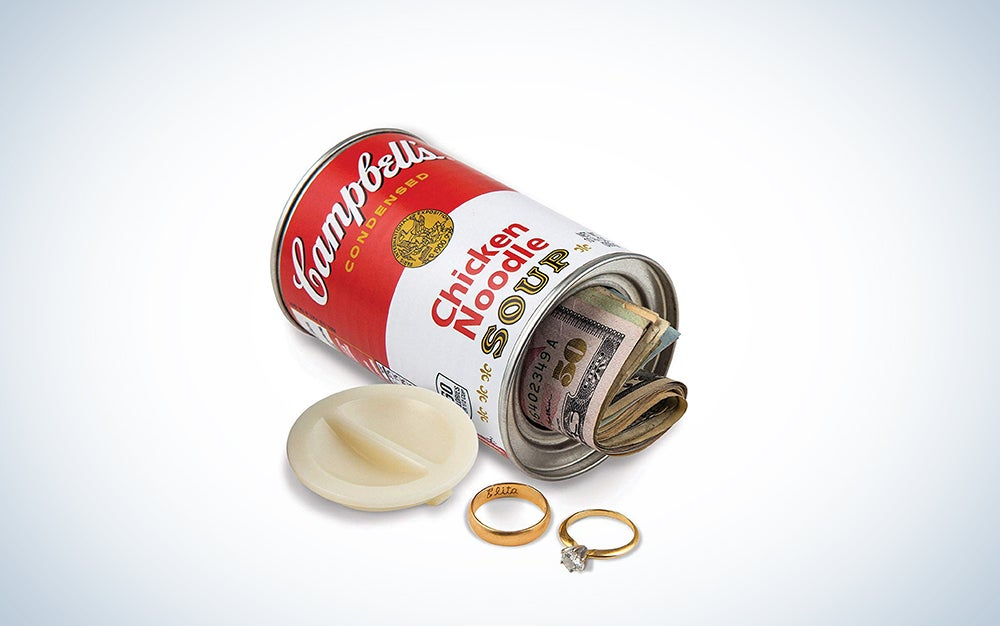 Hide your valuables in a fake Campbell's soup can