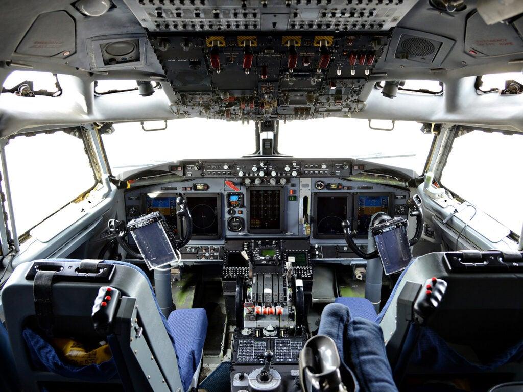 cockpit buttons