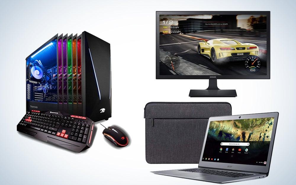 Laptops, gaming PCs, and monitors deals