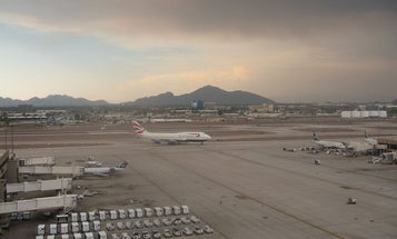 Phoenix is too hot for planes to take off