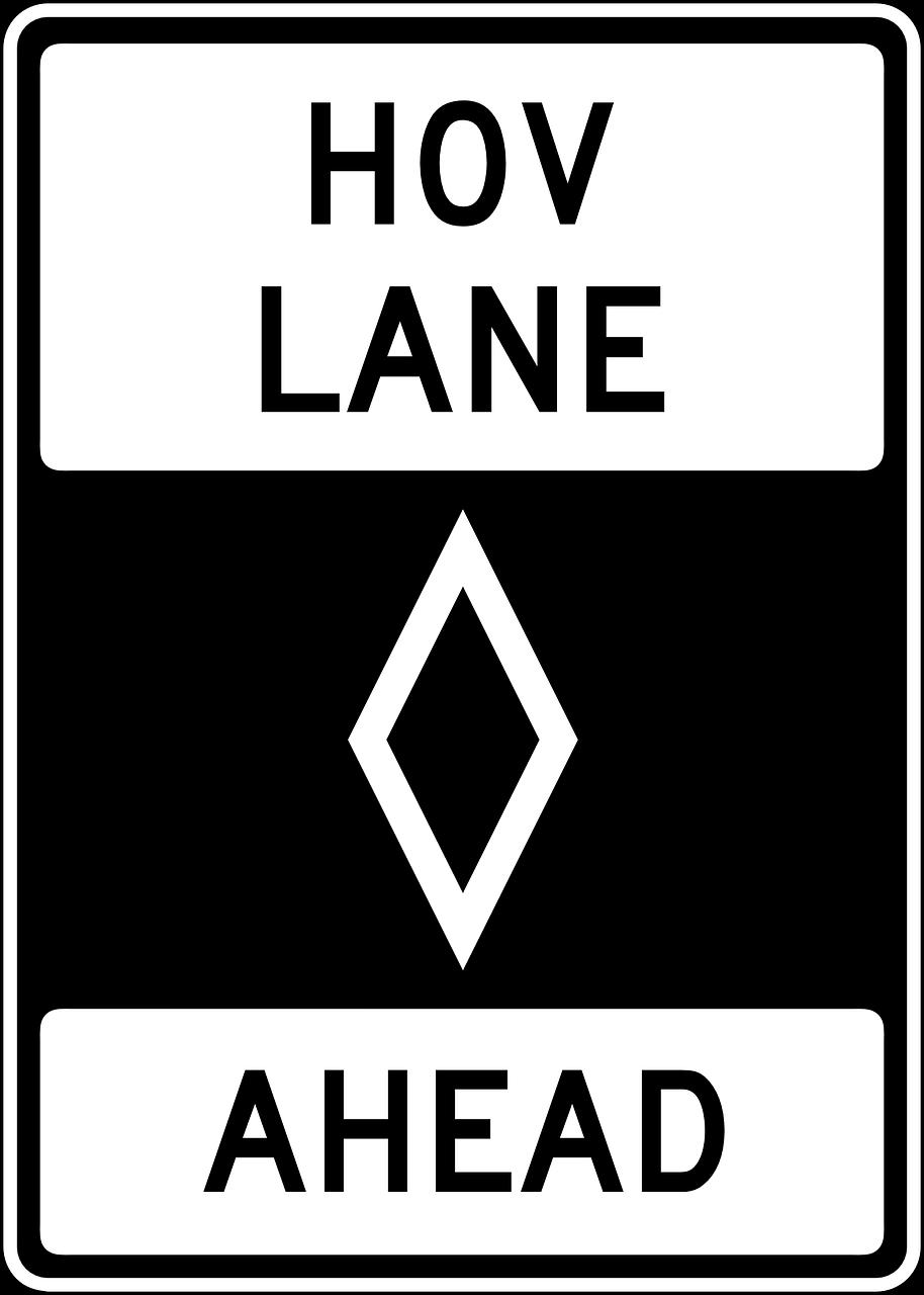HOV lane