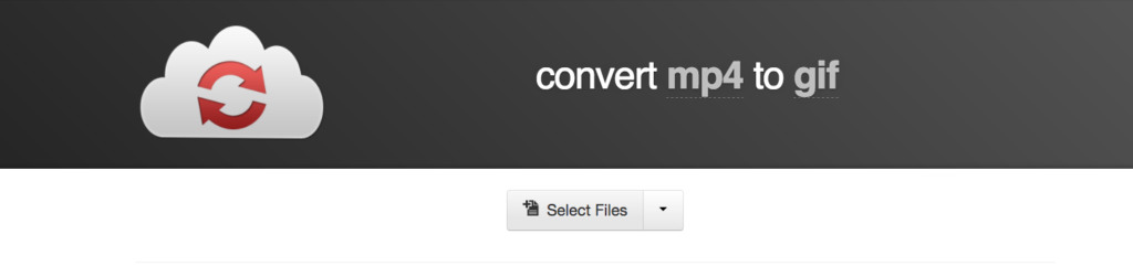 Use CloudConvert to turn your videos into GIFs