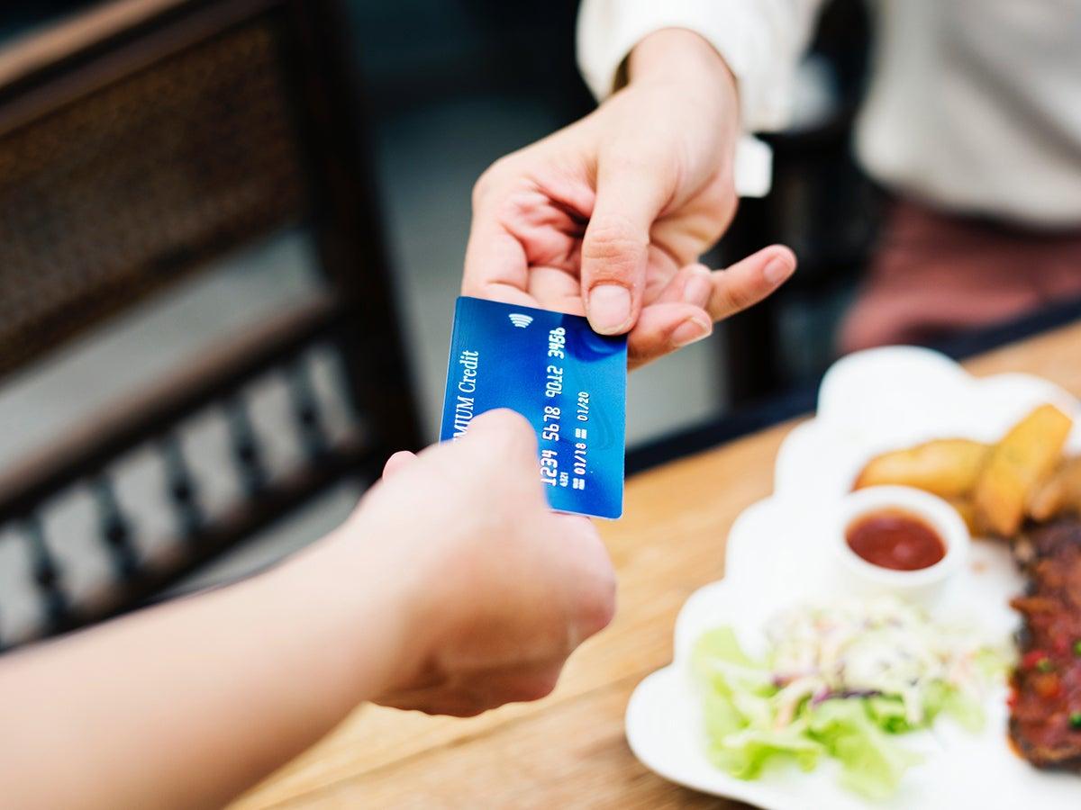 Credit card shopping