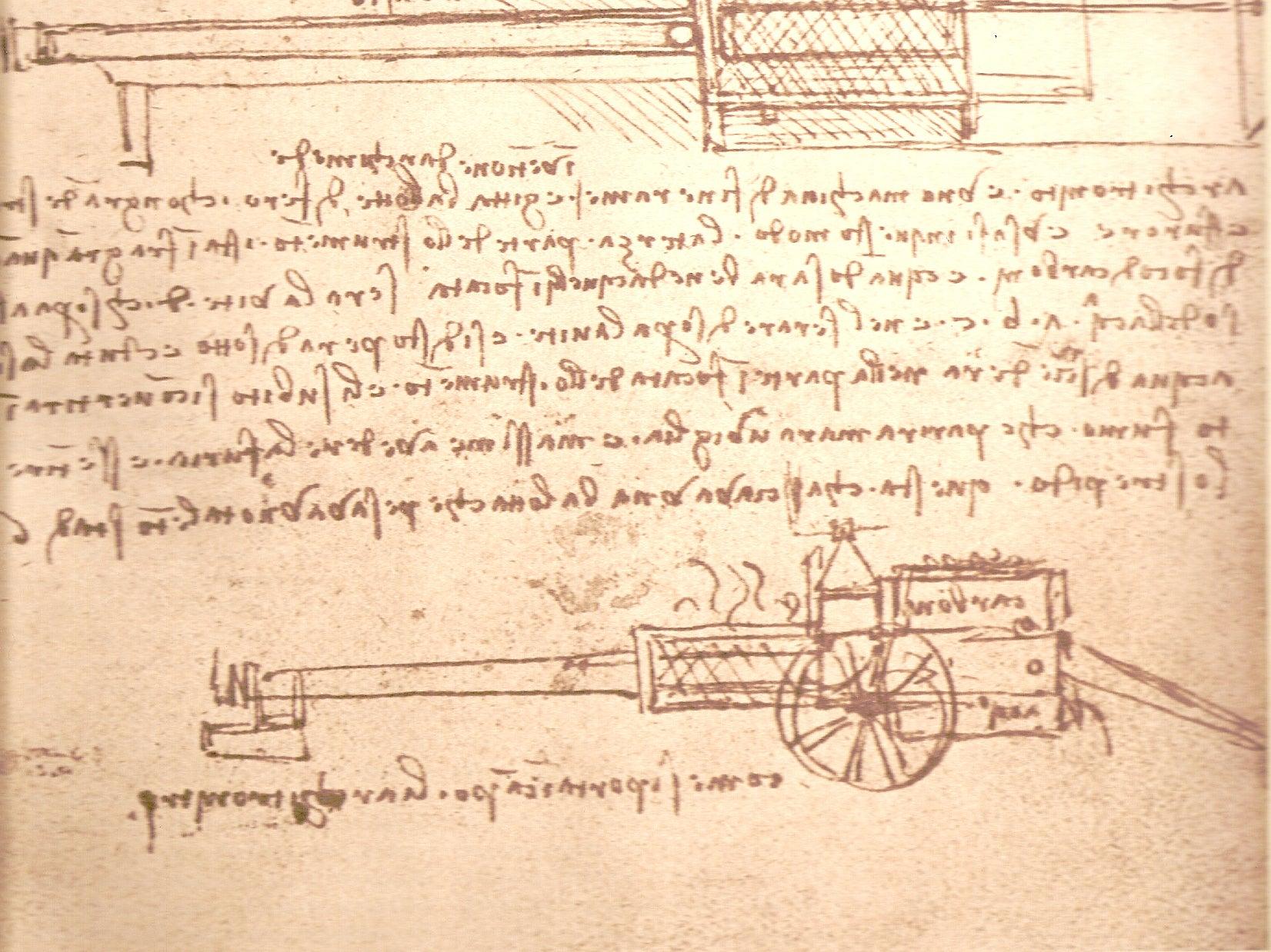 Da Vinci's Architronito