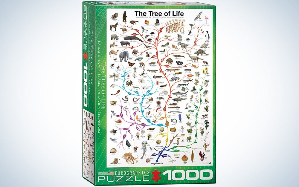 Evolution The Tree of Life 1000-Piece Puzzle