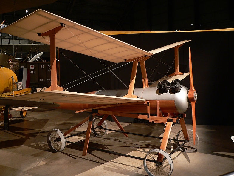 Kettering Aerial Torpedo, An Unmanned Biplane Bomb